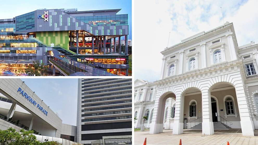 NEX, Parkway Parade and National Museum of Singapore visited by COVID-19 cases while infectious