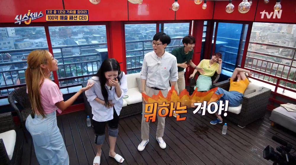 【有片】新综艺《第六感》超爆笑!刘在锡节目中竟说髒话?Jessi语出惊人场面一度失控!