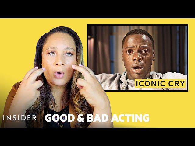 Pro Acting Coach Breaks Down 10 Crying Scenes | Good & Bad Acting
