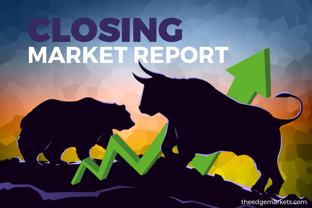 KLCI snaps 2-day losing streak as Covid-19 rise spurs glove share buy