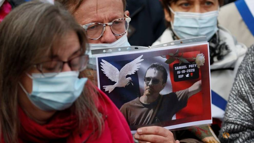 Beheaded teacher Paty will get France's highest honour: Minister