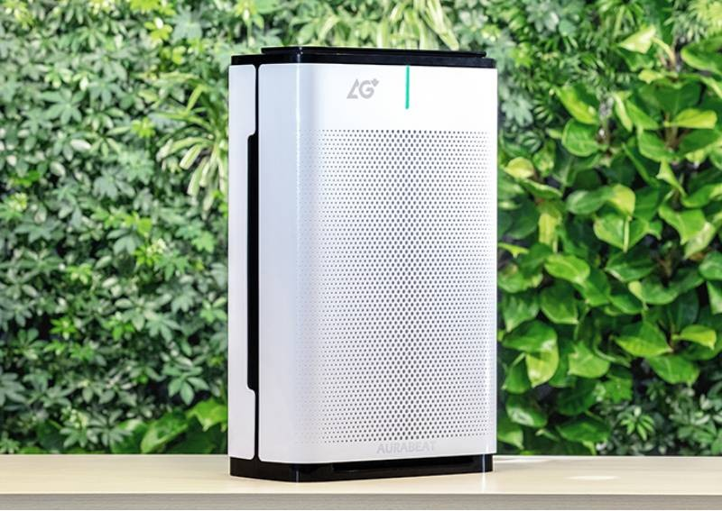Aurabeat's air purifier that destroys 99.99% of Covid-19 virus now available in Singapore