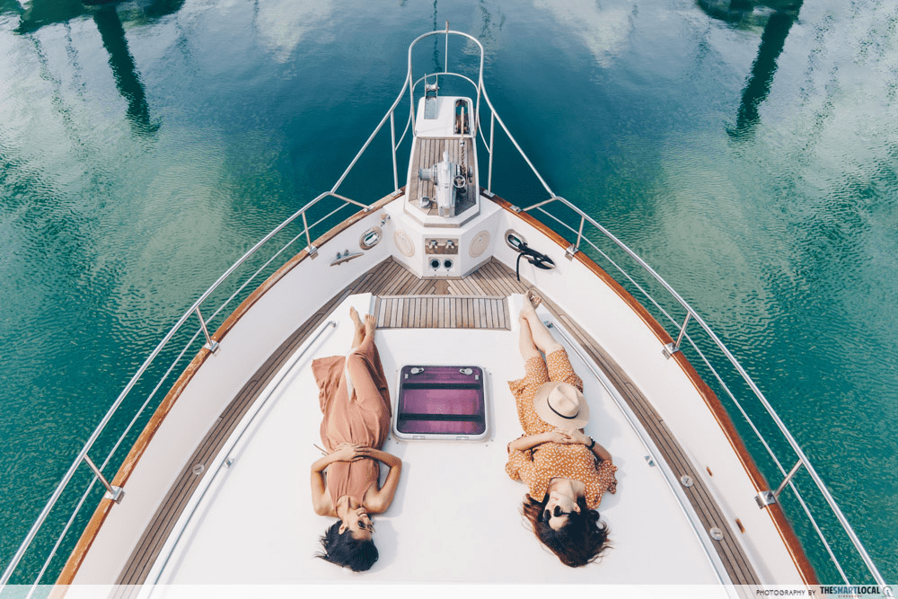 """9 Yacht Rental Deals In Singapore For A """"Sea-cation"""" Or Boat Party, Sorted By Price/Pax"""