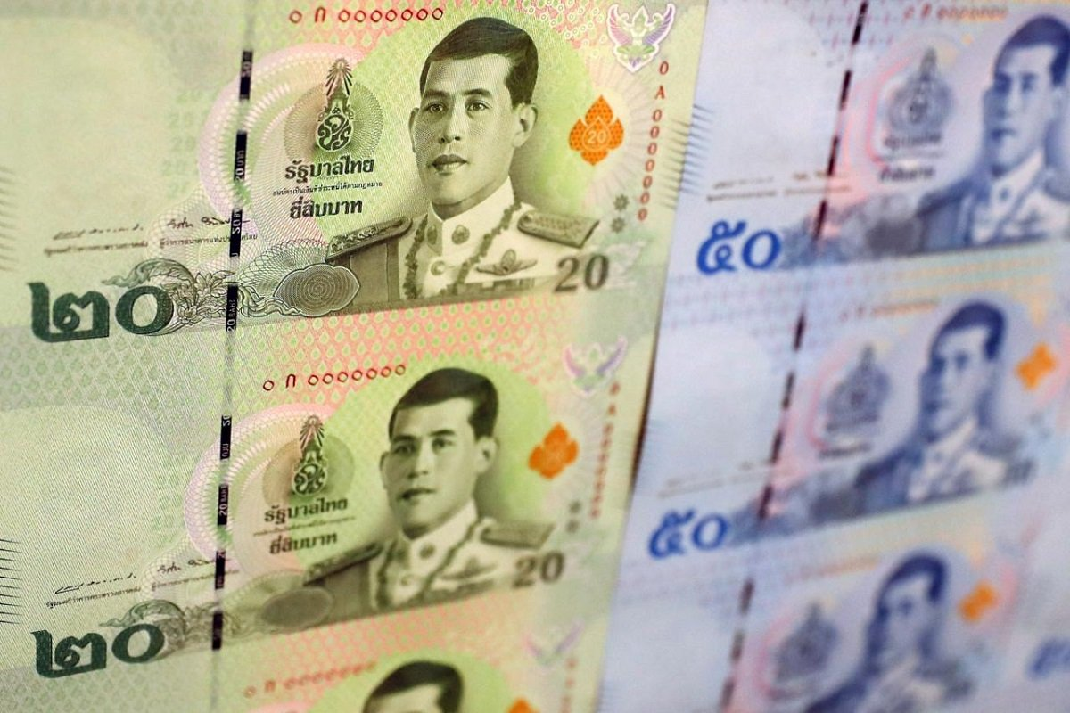 Thai baht jumps nearly 1%; most Asian currencies, stocks mixed