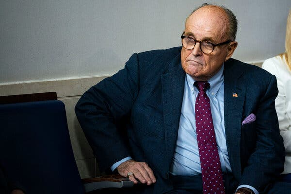 Rudy Giuliani Denies He Did Anything Wrong in New 'Borat' Movie