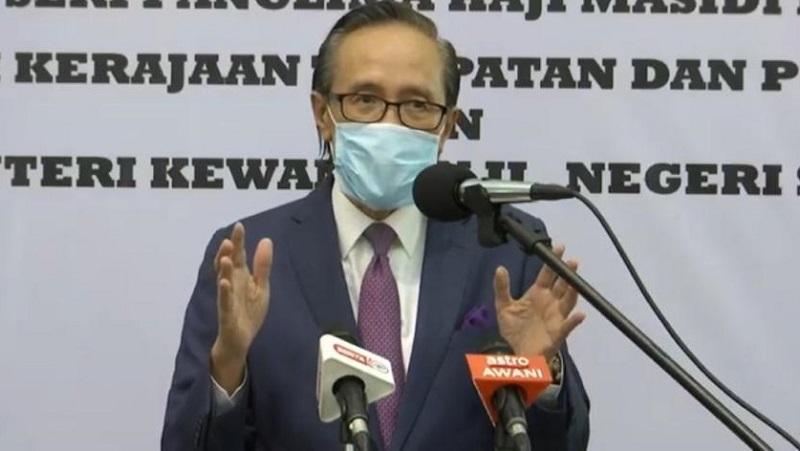 Masidi: 9,403 individuals vaccinated in Sabah so far