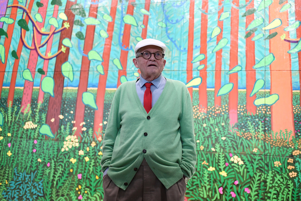David Hockney work sold by Royal Opera House fetches £12.9m