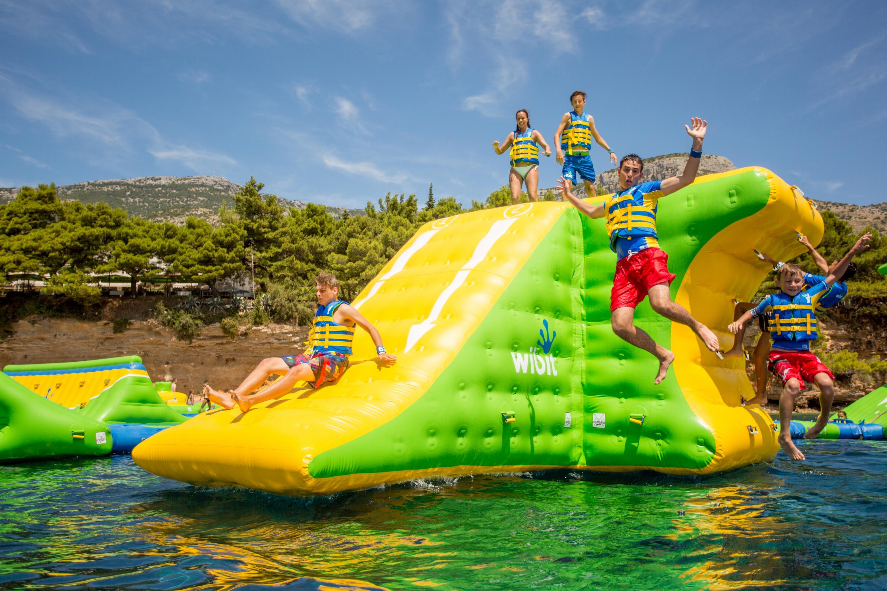 Playgrounds for big kids: A splashing good time at water park HydroDash at Sentosa