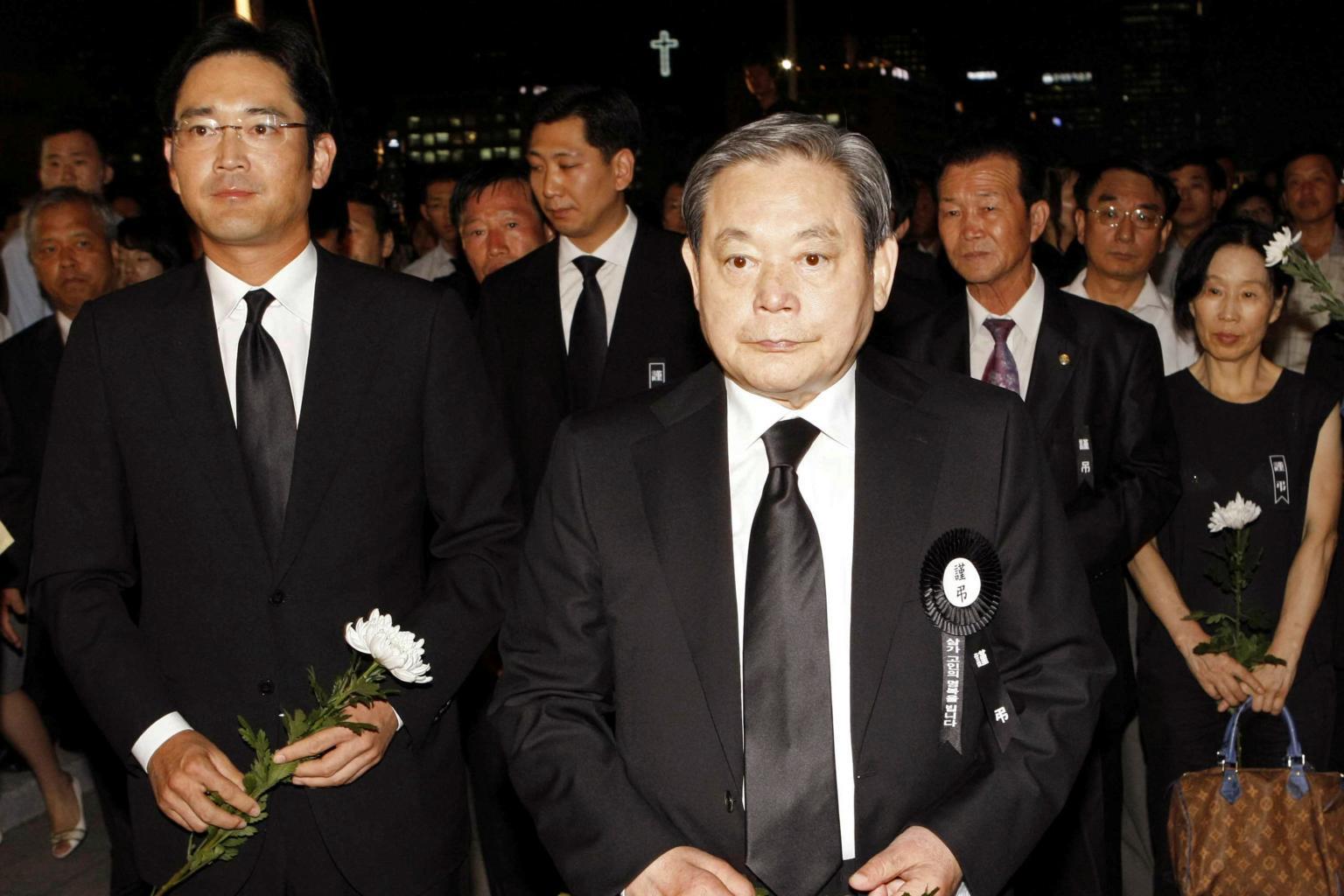 Samsung chairman Lee Kun-hee, head of South Korea's biggest conglomerate,  dies at 78 | Nestia