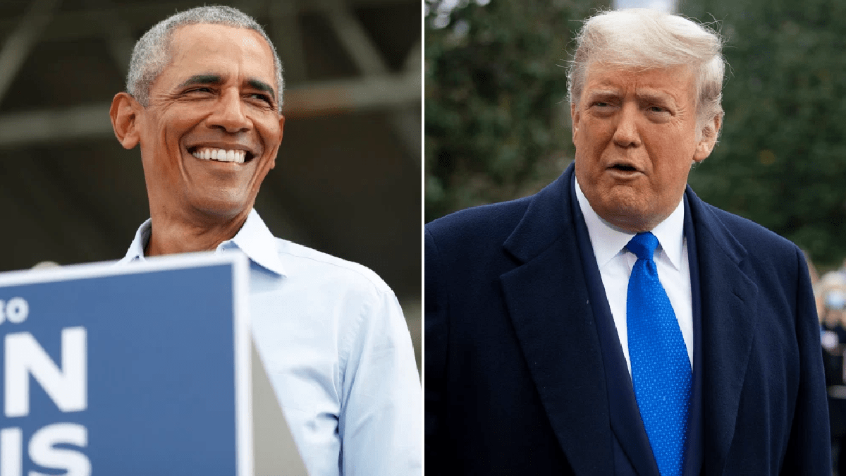 Donald Trump is jealous of coronavirus for getting more attention than him, Obama claims