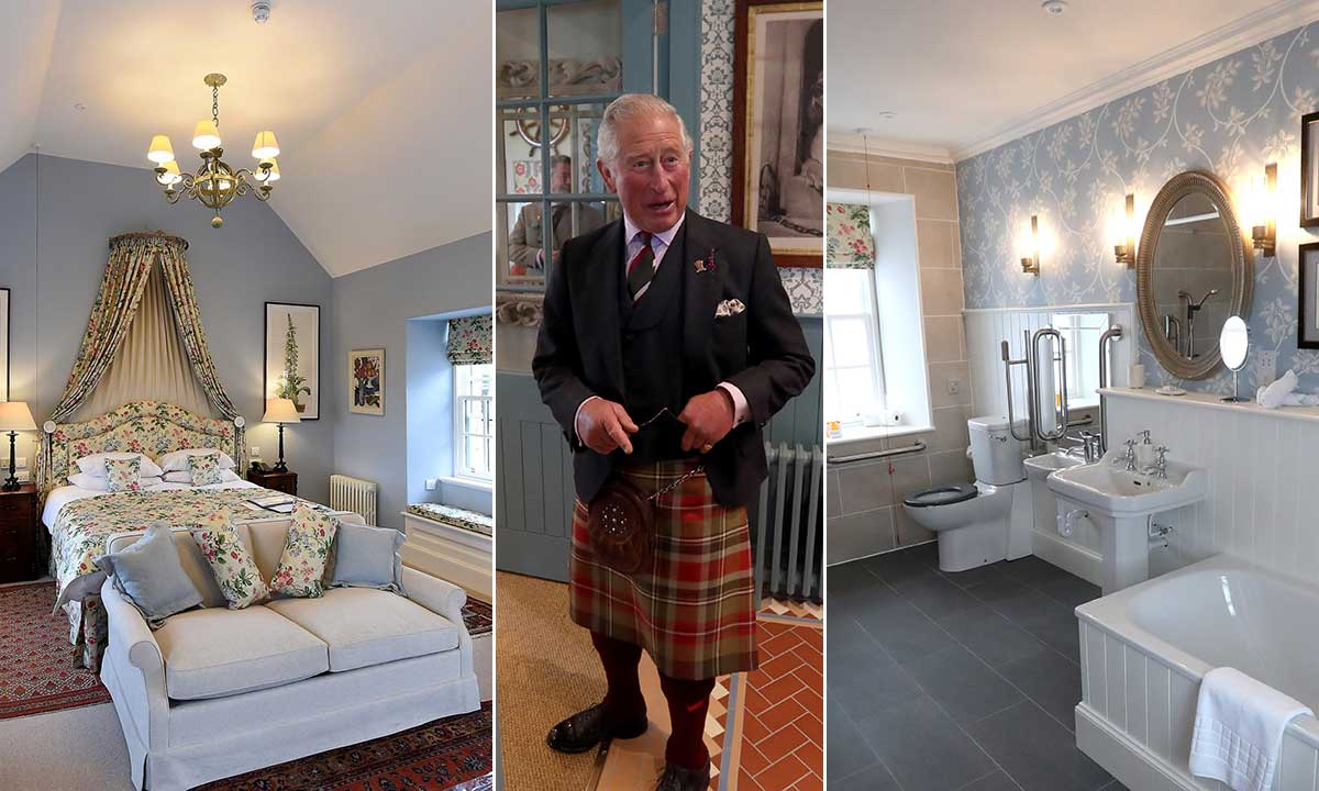 Inside Prince Charles' breathtaking holiday home, the Castle of Mey