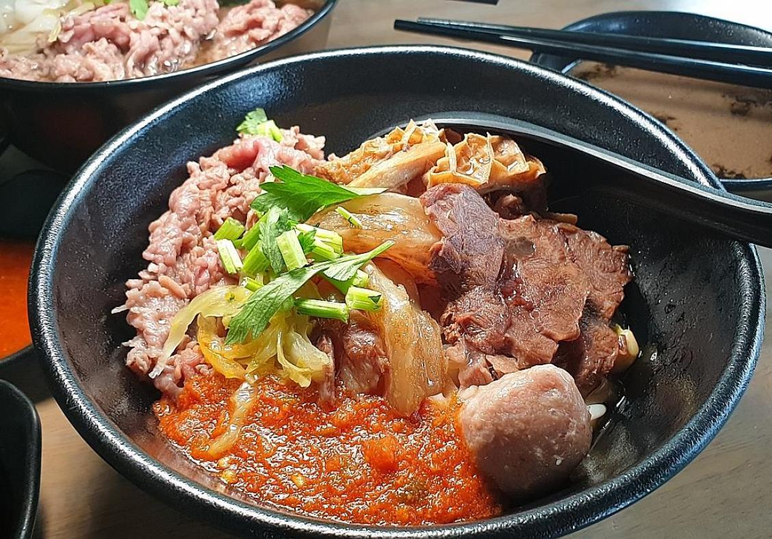 Makansutra: Covid-proof beef noodle, ngoh hiang and Nonya dry laksa