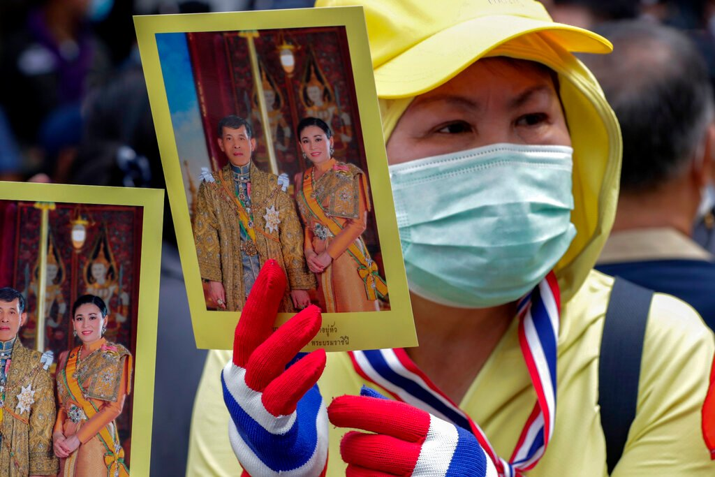 Stop using royals to hold on to power, Thai opposition tells PM