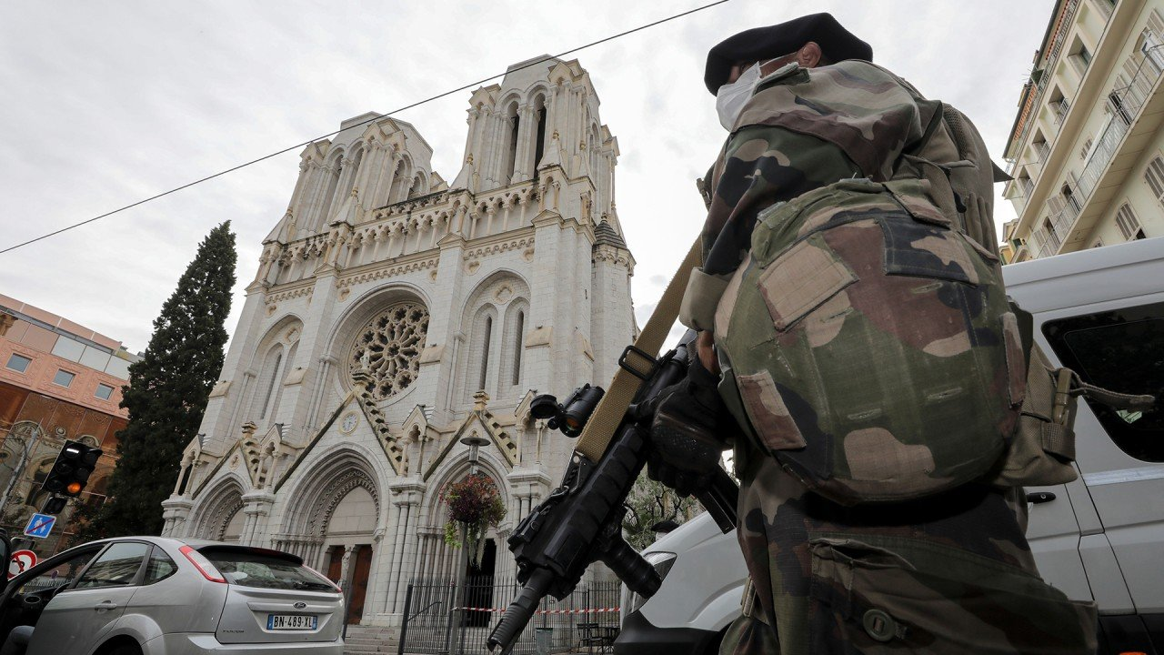 Tunisian authorities detain suspect after video claim over killings at Nice church