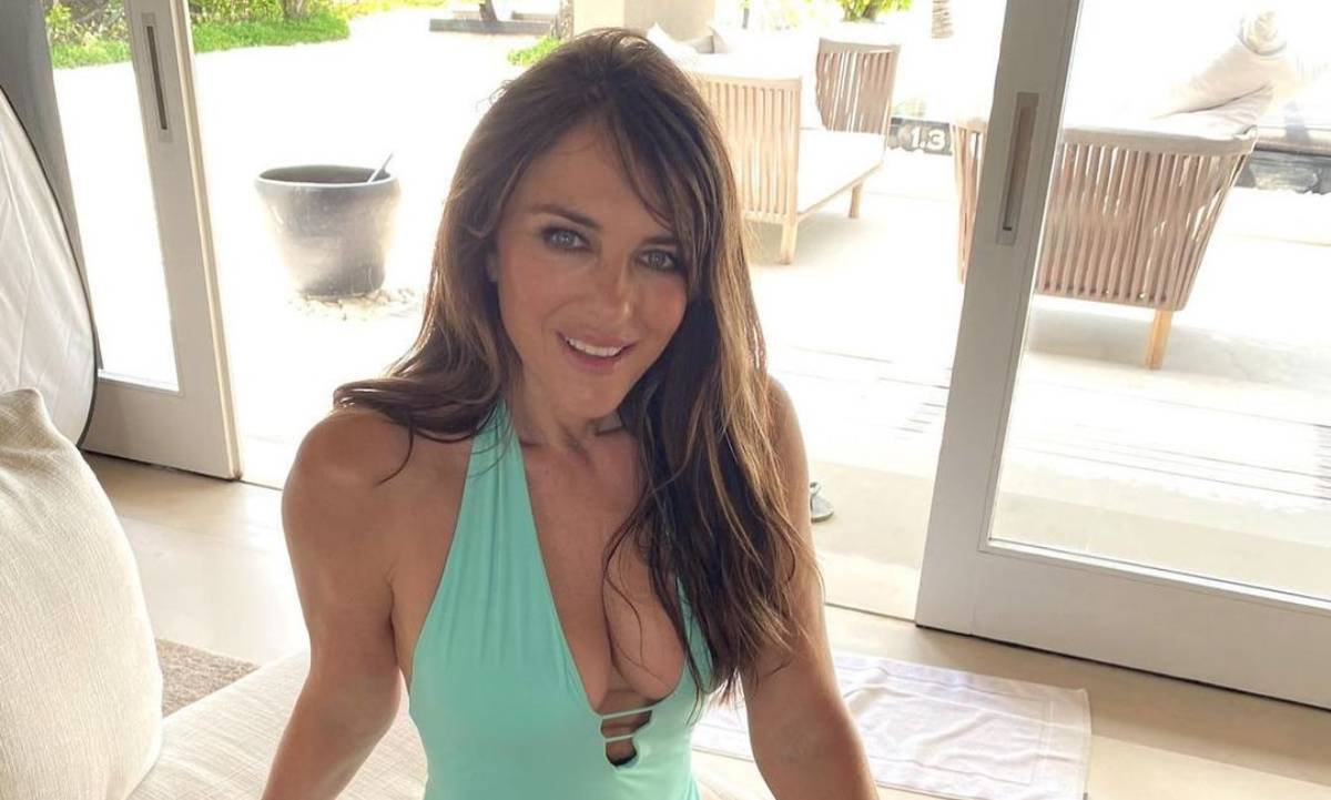 Elizabeth Hurley makes surprising confession about racy photos which sent fans wild