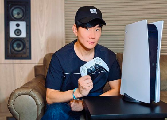 JJ Lin says he is first in Asia to get the PS5