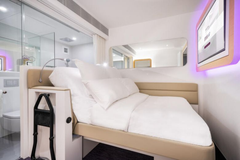 Suite Life: Styled like a first-class cabin, airport hotel Yotelair is a launch-pad to explore Jewel