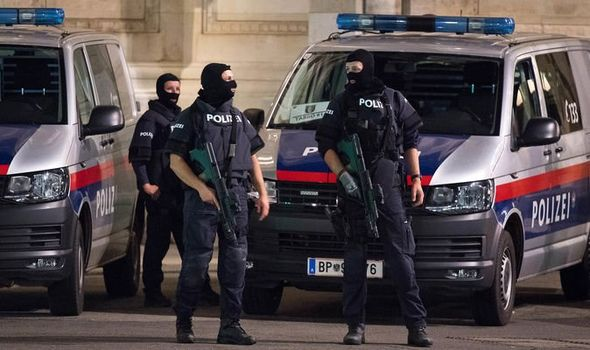 Vienna terror attack: Several dead and fifteen injured in series of attacks