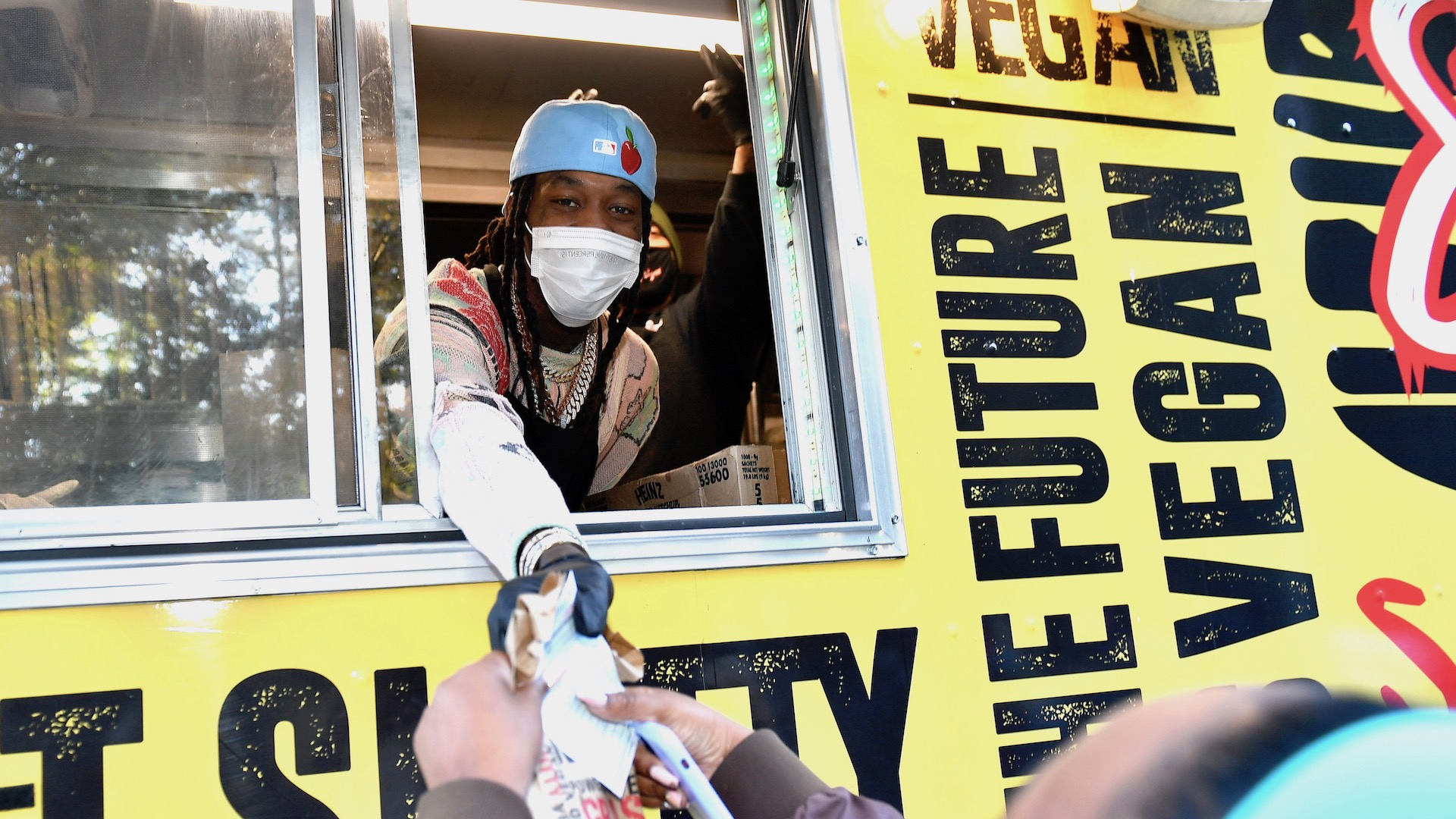 Offset Delivers Free Food to Georgia Voters Waiting in Line