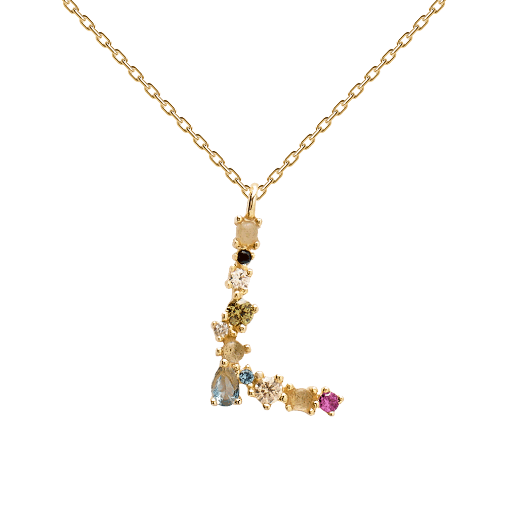 The most stylish alphabet letter necklaces to add to basket now