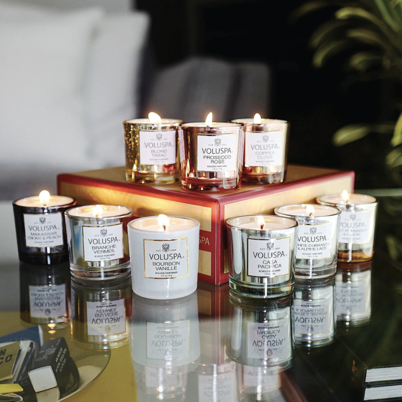 Now Is Your Chance To Get A Whopping Nine Voluspa Candles For Under $50