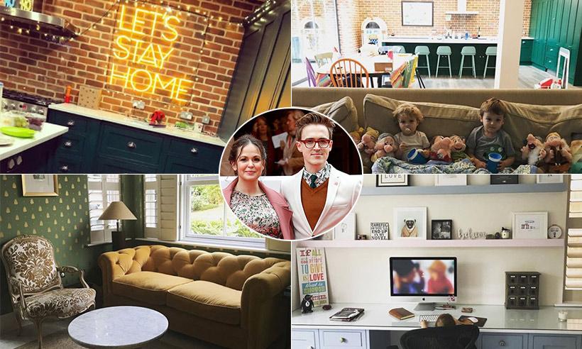 Giovanna Fletcher's stylish family house is serious goals
