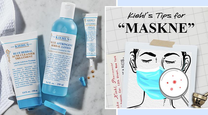 Kiehl's' top tips for maskne