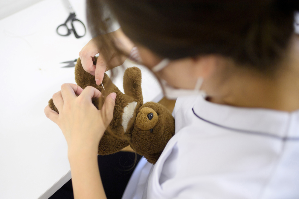 Must be love: The Tokyo 'clinic' treating stuffed toys