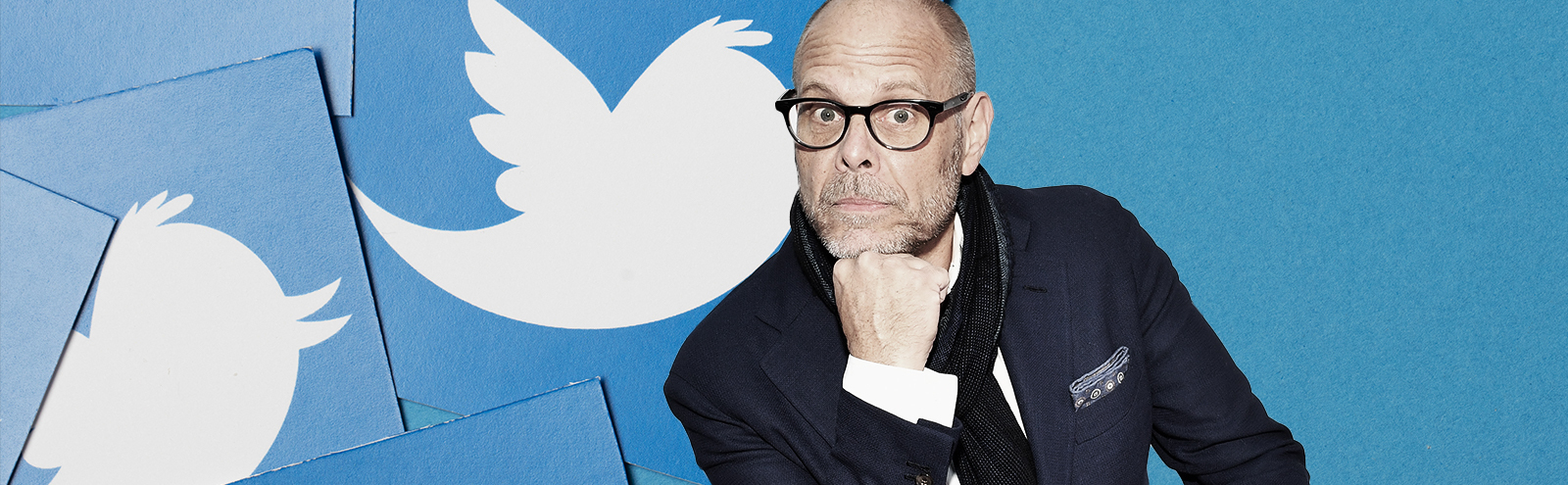 Alton Brown's Increasingly Unhinged Tweets Perfectly Capture Our Election Anxiety