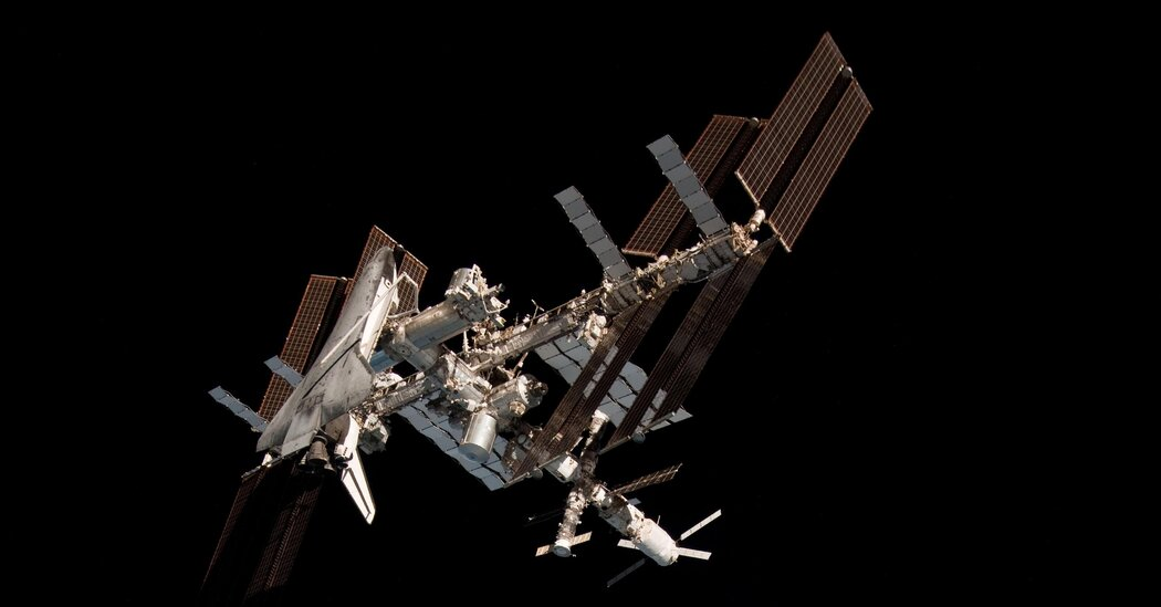 Lesson of the Day: 'How the Space Station Became a Base to Launch Humanity's Future'