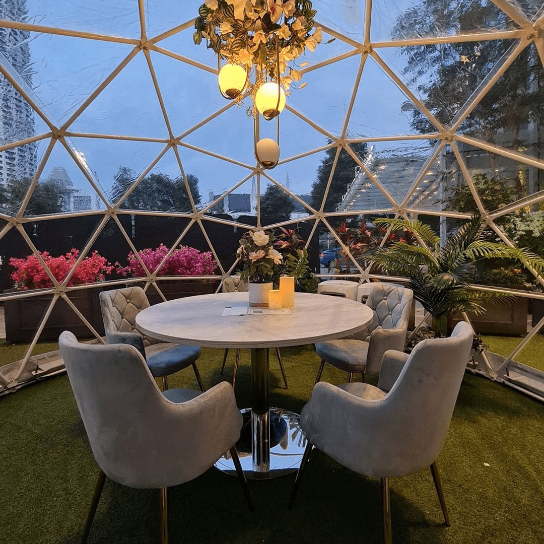 You Can Now Dine In Dreamy Bubble Domes At Capitol Singapore, With Free Board Games & Musical Instruments