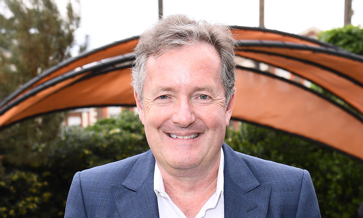 Piers Morgan looks so different covered in tattoos