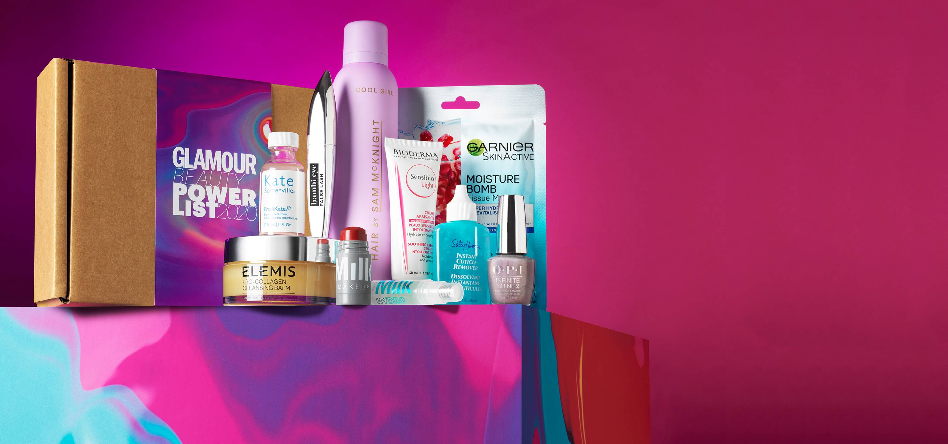 GLAMOUR's Power List Beauty Box has landed – and it's packed with award-winning treats worth over £153 for just £24.99!