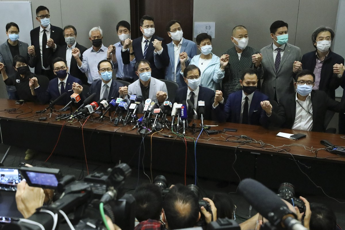 US condemns unseating of pro-democracy legislators in Hong Kong