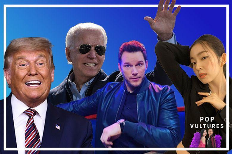 #PopVultures Podcast: US election memes, Worst Chris (Pratt?) and Red Velvet's Irene