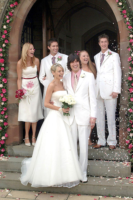 I'm A Celeb stars' wedding photos: Vernon Kay, Shane Richie, Victoria Derbyshire, more