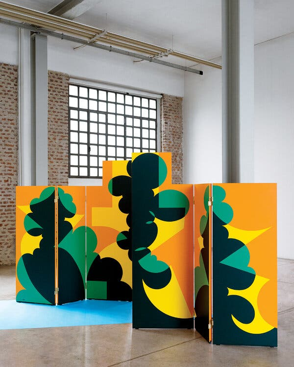 A Vibrant Screen That Resurrects an Artist's Vision