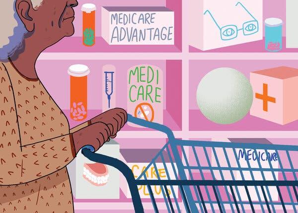 When Medicare Choices Get 'Pretty Crazy,' Many Seniors Avert Their Eyes