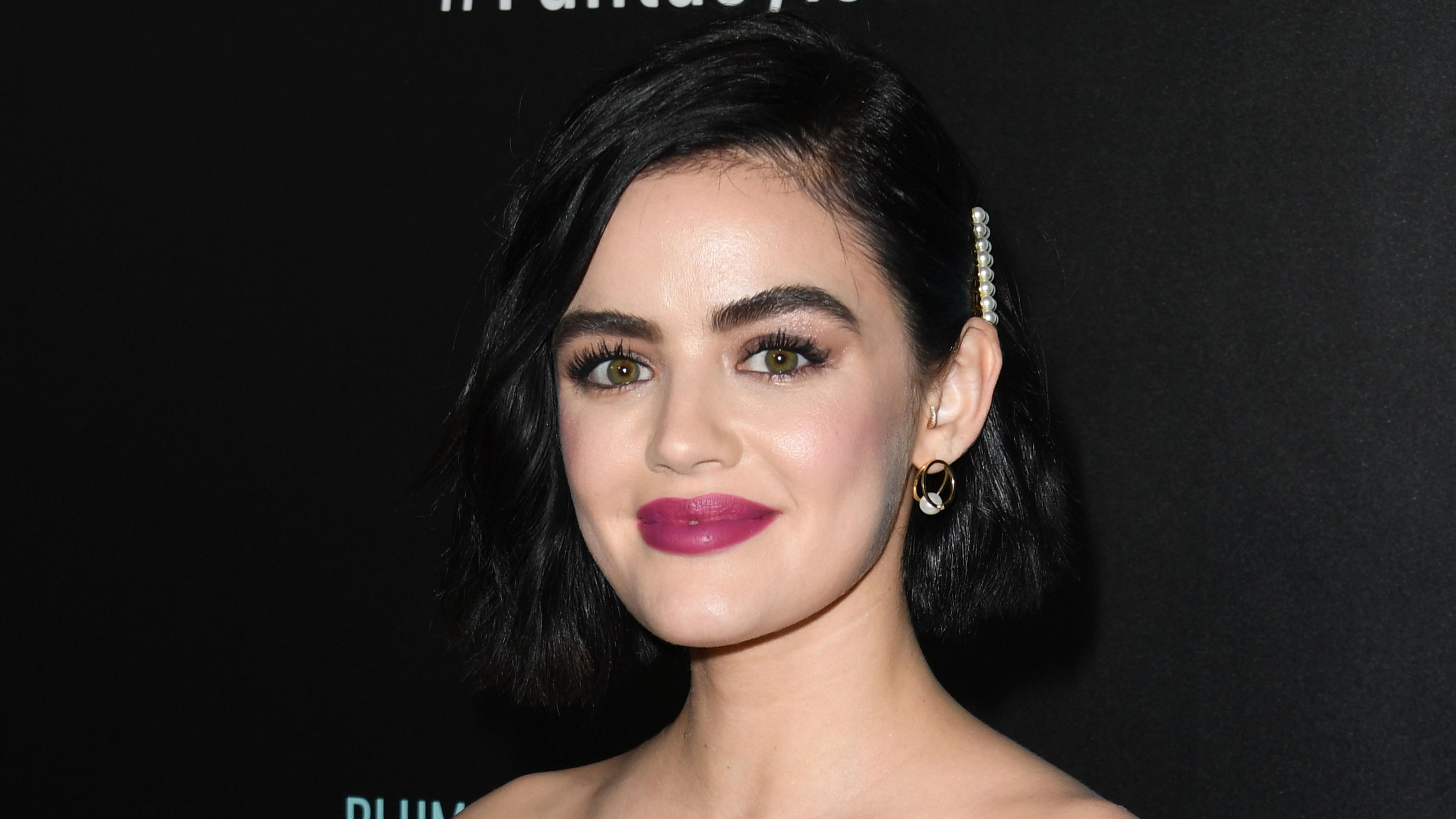 Lucy Hale Is Officially a Brunette Again