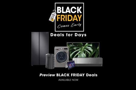 Enjoy early Black Friday bargains at Gain City