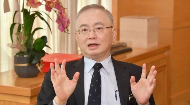 魏家祥挑战陆兆福 国会外重复指控
