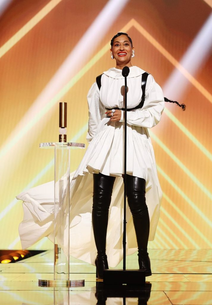 """Tracee Ellis Ross Credits Mom Diana Ross' """"Epic Closet"""" For Inspiring Her Love Of Fashion"""