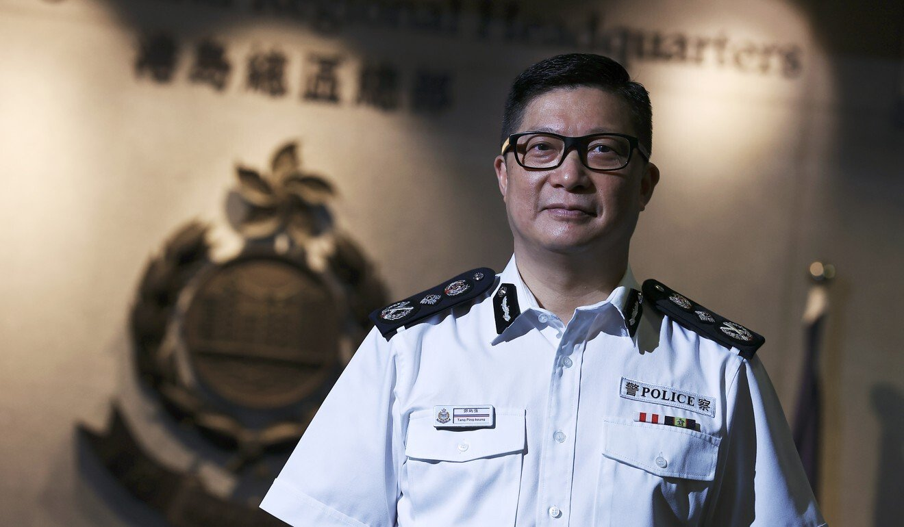 Hong Kong police chief accuses foreign countries harbouring protest-related fugitives of putting 'politics above the law'