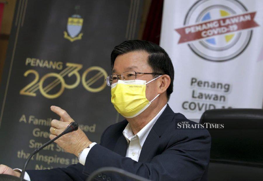 Penang proposes targeted CMCO