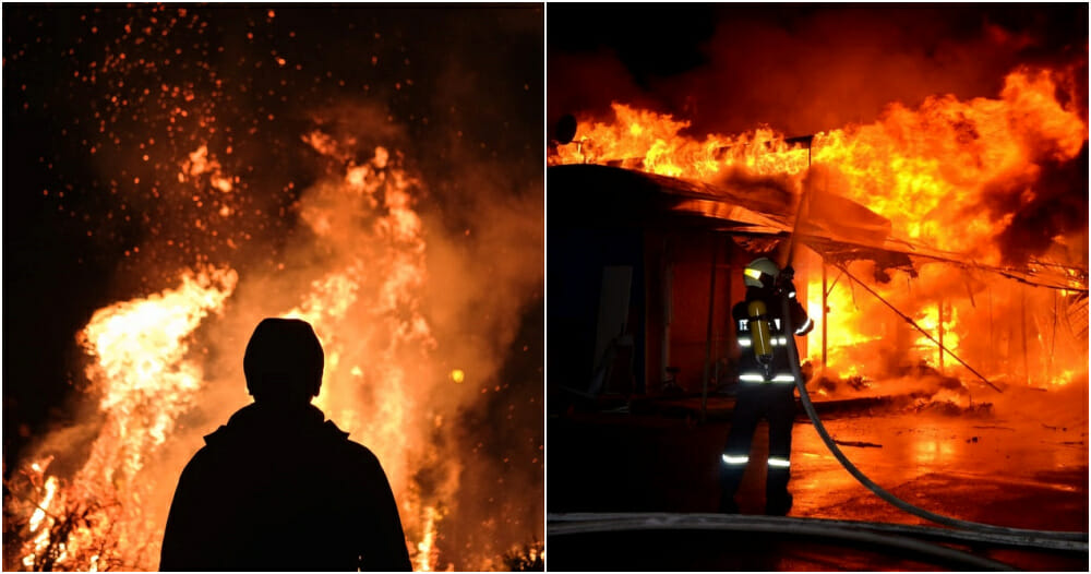 Klang Man Sets House On Fire Out Of Anger Towards Brother-In-Law Who Wanted to Divorce His Sister