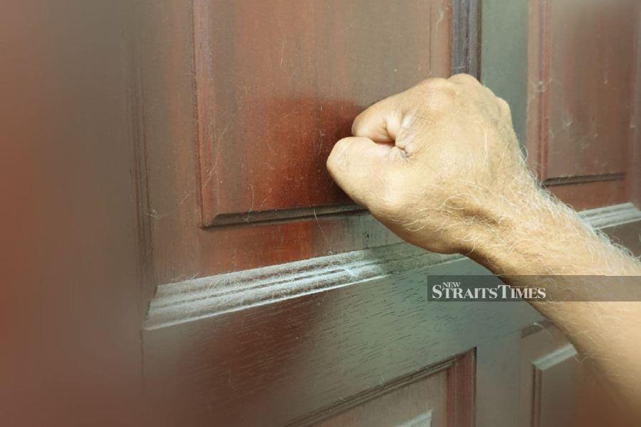 Knock, knock, who's there? No idea!