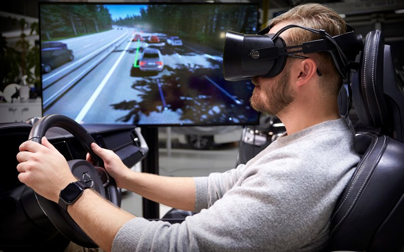 Simulator by Volvo analyses driver behavior in real time