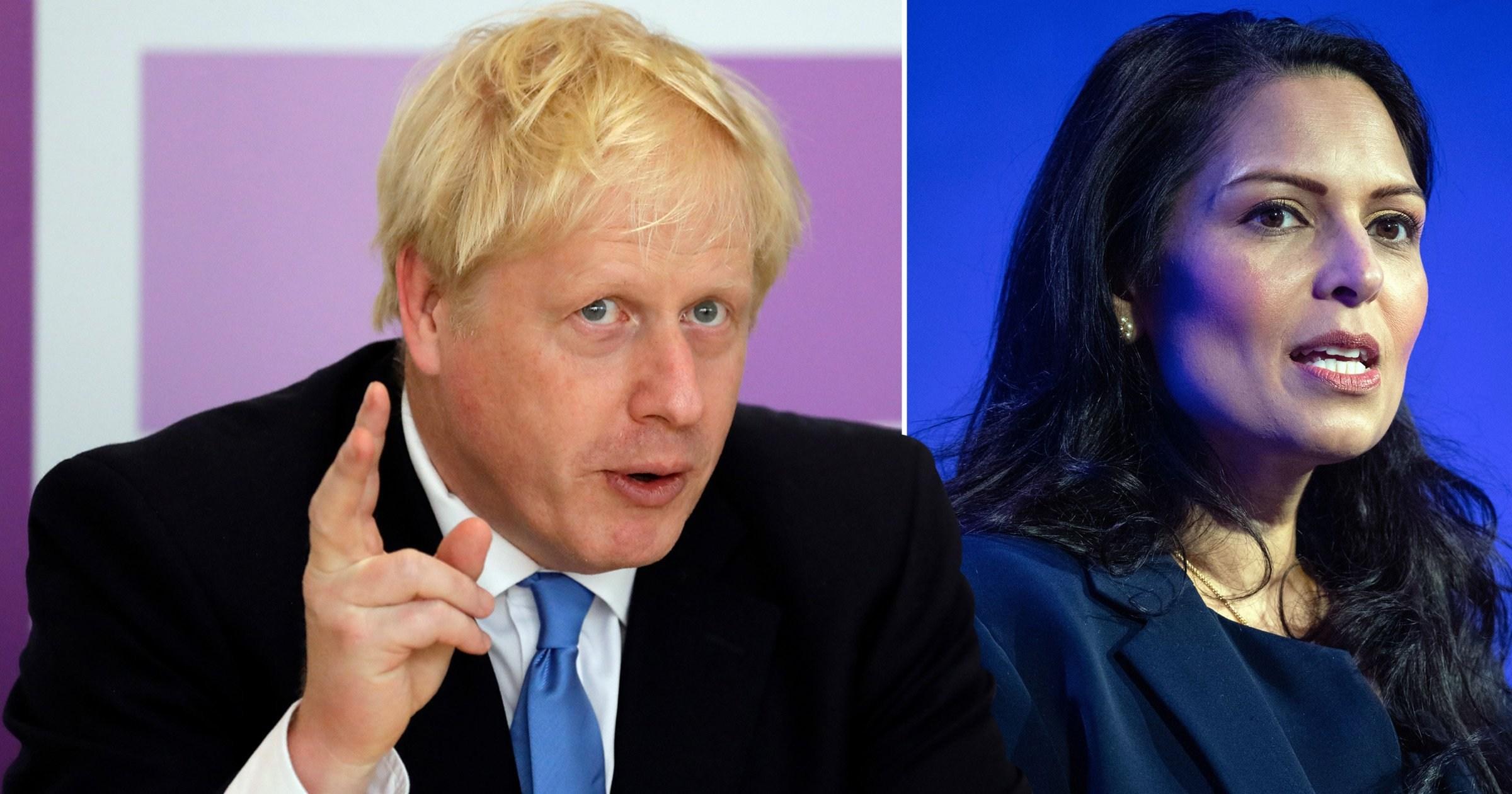 Boris Johnson tried to get Priti Patel bullying report 'watered down'