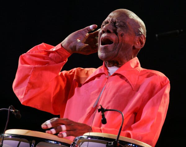 Cándido Camero, Conga Master Who Transformed Jazz, Dies at 99
