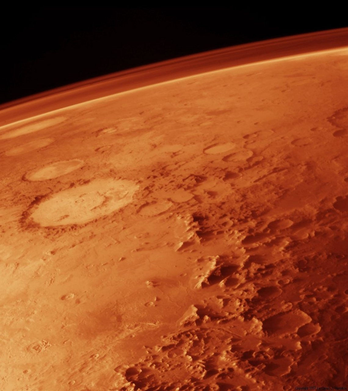 Ancient 'Megafloods' Swept Across the Surface of Mars 4 Billion Years Ago, Find Scientists